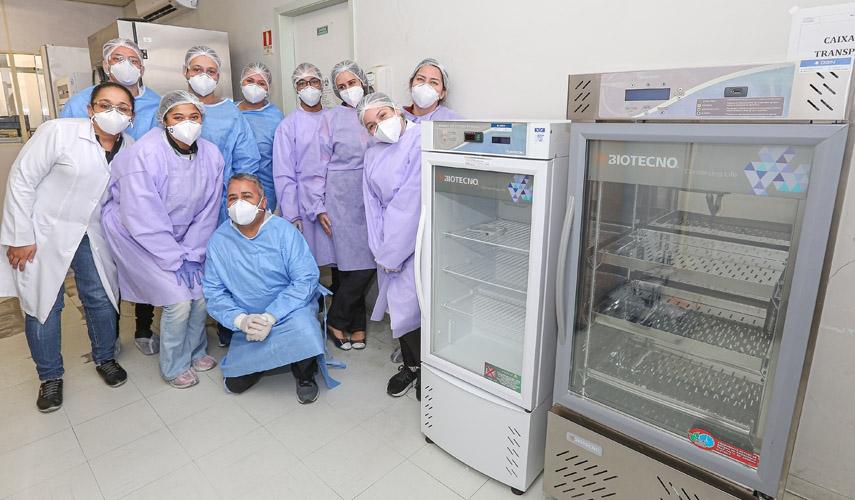 Biotecno doa câmaras ao Instituto Adolfo Lutz para armazenar amostras da Covid-19