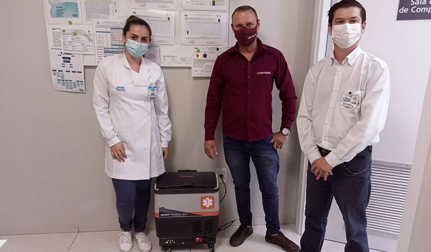 Hospital replaces old thermal boxes with scientific chambers